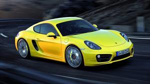 Nuevo Porsche Cayman II se muestra en el Salón de  Los Ángeles