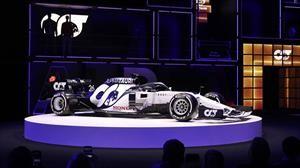 Olvídate de Toro Rosso y dale la bienvenida al nuevo Alpha Tauri AT01-Honda