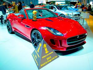 Jaguar F-Type gana el World Design Car of the Year 2013