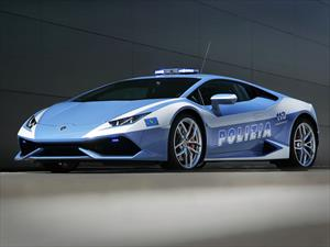 Lamborghini Huracán es la nueva patrulla de la policía italiana