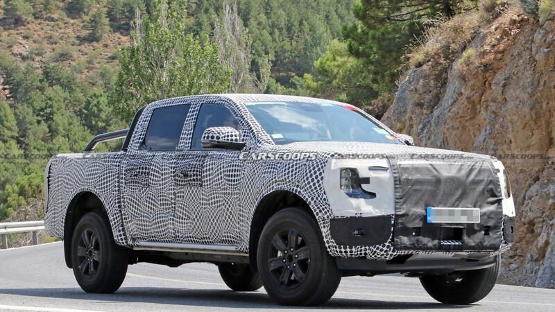 Ford Ranger plug-in hybrid 2024 está en fase de pruebas