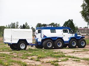 Avtoros Shaman, el gigante anfibio con tracción 8x8