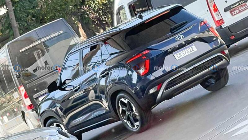 Nuevo Hyundai Creta deja ver su parte trasera