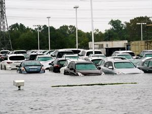 El Huracán Harvey se lleva 500.000 vehículos