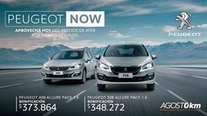 Peugeot congela sus precios y ofrece bonificaciones