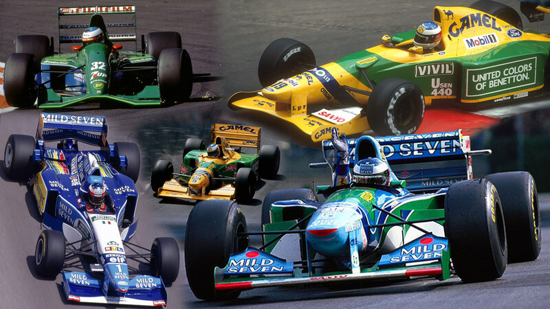 La historia de Schumacher en la F1 a través de sus autos (Parte I)