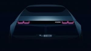Hyundai 45 Concept es un auto eléctrico inspirado en el icónico Pony