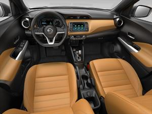 Nissan Kicks 2017: su interior