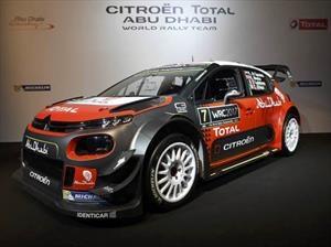 WRC: Así es el Citroën C3 que buscará la gloria