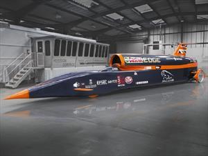 Bloodhound SSC, el auto de los 1,600 Km/h