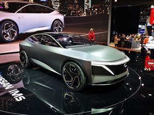 Nissan IMs Concept es un eléctrico traído del futuro