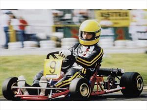 Subastarán un karting de Senna