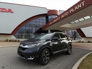 Honda comienza la producción de la CR-V 2017