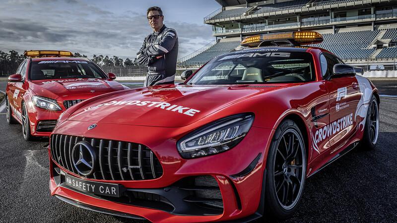 Mercedes-Benz usará el rojo Ferrari en sus Safety Cars de la F1 en 2021