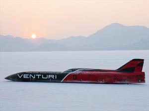Venturi VBB-3 es el auto eléctrico más rápido del mundo