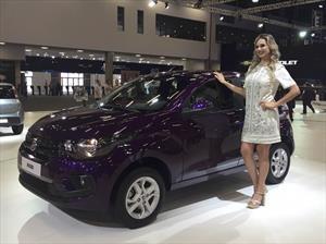 Fiat Mobi, Toro y Uno en el Salón de Sao Paulo 2016