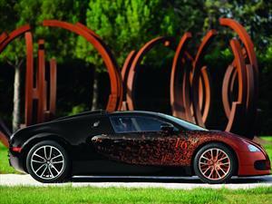Bugatti Veyron Grand Sport por Bernar Venet