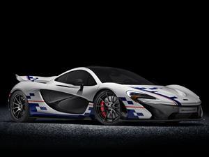 Un McLaren P1 que le rinde tributo a Alain Prost