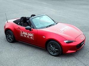 Mazda MX-5 celebra 1,000,000 de unidades producidas
