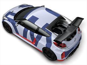 Hyundai Veloster Midship Concept, probando un motor central