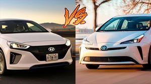 Hyundai Ioniq vs Toyota Prius, ¿cuál híbrido prefieres?