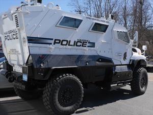 Carros antimotines estadounidenses equipan cámaras IP