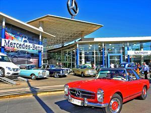 Quinto Encuentro de Autos Clásicos de Mercedes-Benz