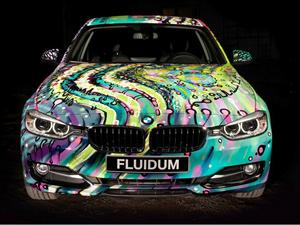 BMW Serie 3 F30 Art Car por Andy Reiben