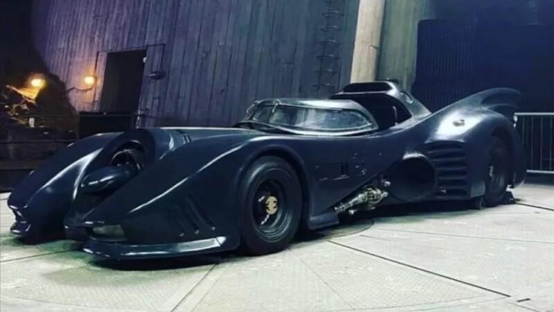 Batimóvil de los 90 aparecerá en la película de Flash