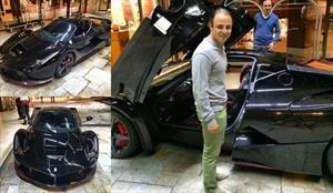 Felipe Massa y su Ferrari LaFerrari