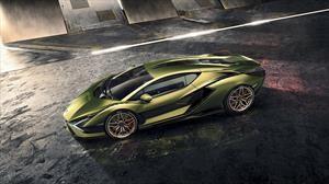 Lamborghini Sián, un deportivo híbrido sobrepotenciado