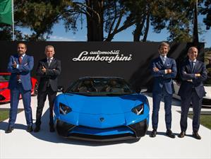 Lamborghini Aventador LP750-4 SV Roadster debuta