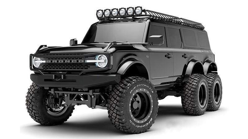 Ford Bronco 6x6: monstruoso SUV que vale más de 1.400 millones de pesos