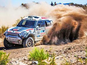 Nasser Al-Attiyah del MINI X-RAID Team se adjudicó la octava etapa