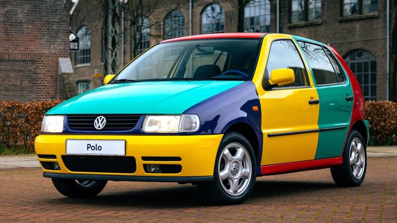 Como nació la idea de crear los Volkswagen Arlequín, los famosos autos multicolores