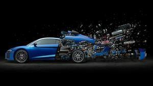 ¿Cuántas piezas tiene un automóvil?