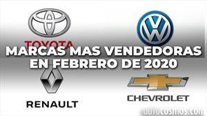 Top 10: las marcas más vendedoras de Argentina en febrero de 2020