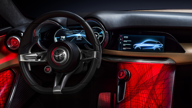 """""""No vendemos un iPad con ruedas"""", dice Alfa Romeo"""