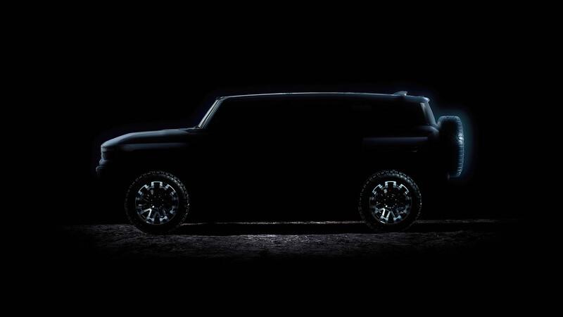 GMC Hummer EV SUV, la versión familiar del súper eléctrico se alista para debutar