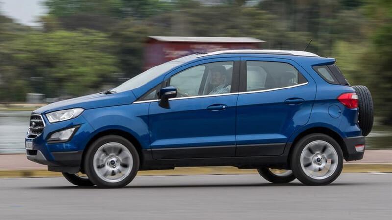 Ford EcoSport que viene a Argentina dejará de producirse