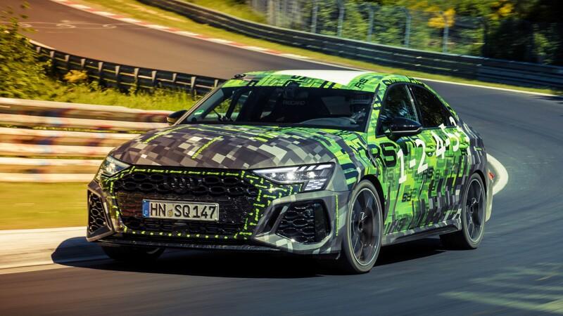 Nuevo Audi RS 3 Sedan brilla en el Infierno Verde