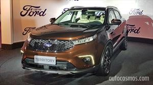 Ford Territory estará disponible en Sudamérica