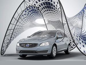 Pure-Tension Pavillion, los paneles solares plegables de Volvo