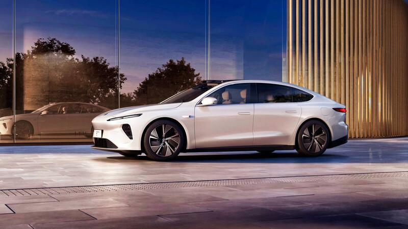 NIO ET7, el sedán eléctrico de 1,000 km de autonomía que hará frente al Tesla Model S