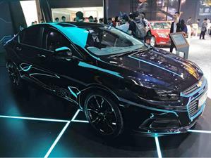 Chevrolet Cruze inspirado en Tron: Legacy debuta