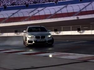 Video: BMW autónomo haciendo drift