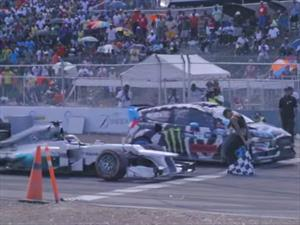 Video: Ken Block Vs Lewis Hamilton o la F1 Vs el Rally