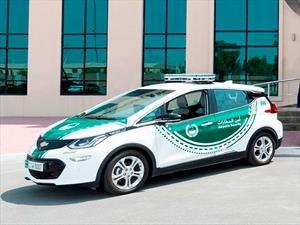 Chevrolet Bolt se une a la flota de patrullas de la policía de Dubái