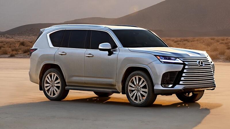 Lexus LX 2022, esta SUV con grandes capacidades 4x4 es toda una limusina