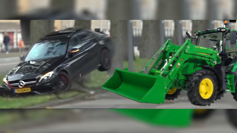 Empleado destruye 69 Mercedes-Benz tras ser despedido